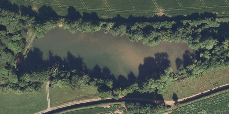Redmire Pool Carp Fishing Lake in Hereford